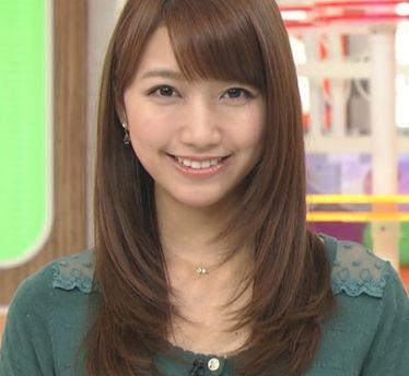 三田友梨佳・女子アナかわいいランキング