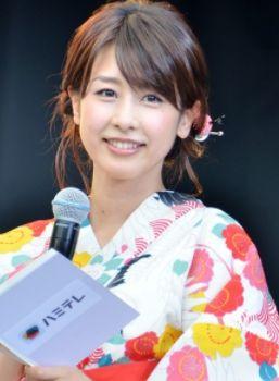 加藤綾子・女子アナかわいいランキング