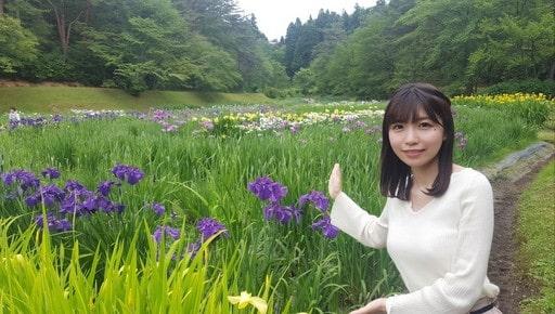NHKのかわいい女子アナ・坂元楓