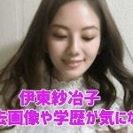 伊東紗冶子の彼氏や元カレは?出身は大阪のどこ?過去の画像や学歴についても