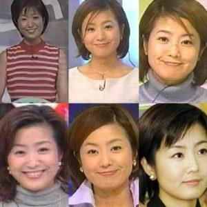 菊間千乃・若い頃