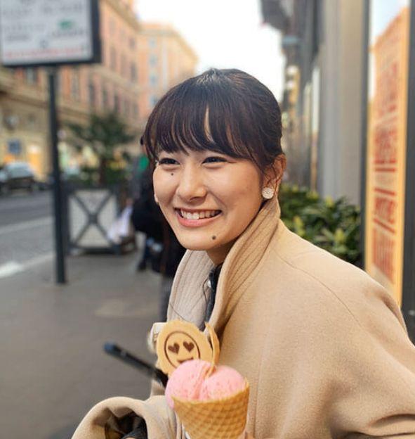 NHKのかわいい女子アナ・宮本真智