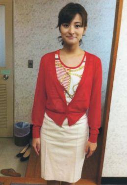 徳島えりか・女子アナ高身長ランキング