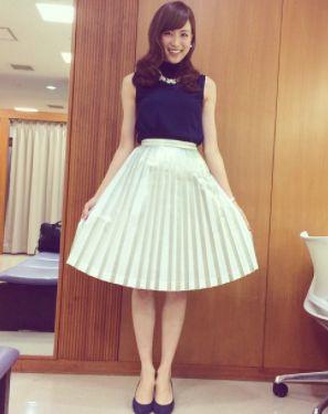 笹川友里・女子アナ高身長ランキング