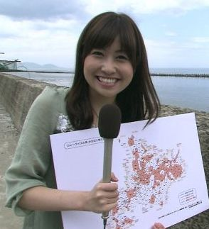 室谷香菜子・可愛い女子アナランキング・北海道