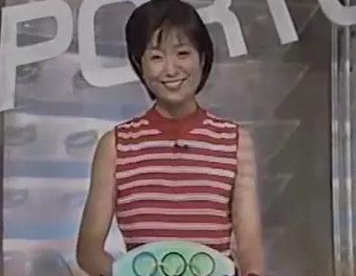 菊間千乃・若い頃の画像