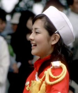 鈴木奈穂子・若い頃