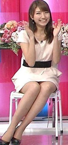 三田友梨佳・女子アナスタイルランキング・美脚美人編
