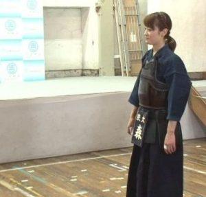 森花子・剣道の画像