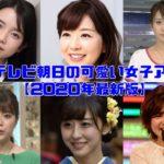 テレビ朝日女子アナ