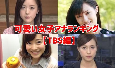 可愛い女子アナランキング・TBS編