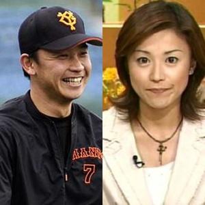 用稲千春・二岡智宏・女子アナとプロ野球選手・結婚まとめ