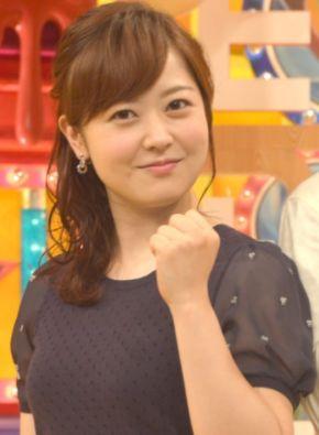 水卜麻美・可愛い女子アナランキング・日本テレビ