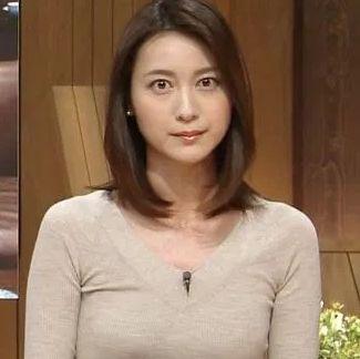 小川彩佳・可愛い女子アナランキング・テレビ朝日編