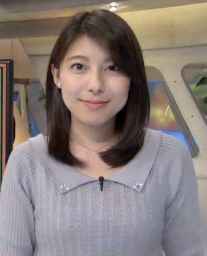 上村彩子・可愛い女子アナランキング・TBS編