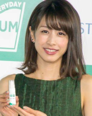 加藤綾子・女子アナかわいいランキング2018