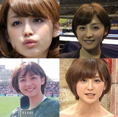 宮司愛海・髪型
