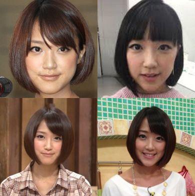 竹内由恵・髪型01