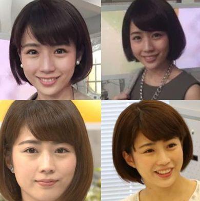 田中萌・髪型01