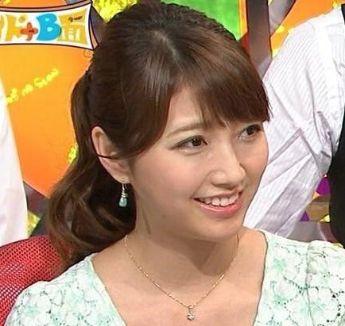 三田友梨佳・女子アナ好感度ランキング