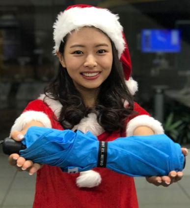 角田菜穂子・サンタ