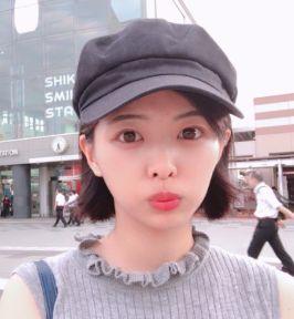 角田菜穂子・キャップ
