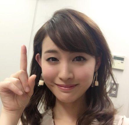 ハーフの女子アナ・新井恵理那