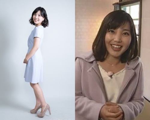 背の低いかわいい女子アナ・堀菜保子