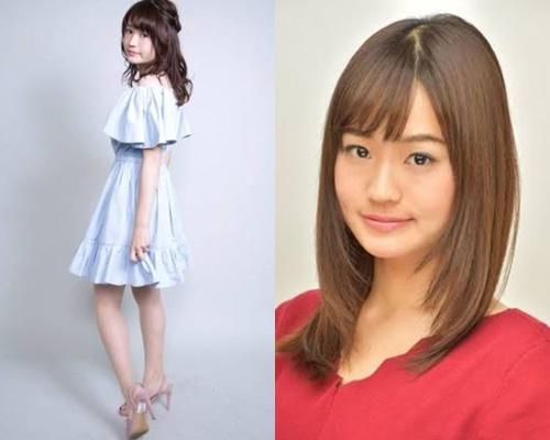 背の低いかわいい女子アナ・篠原梨菜