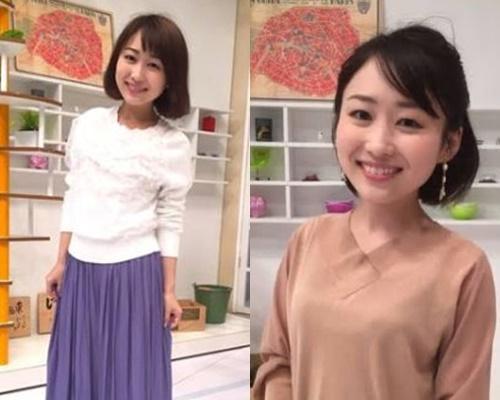 背の低いかわいい女子アナ・渕上明里