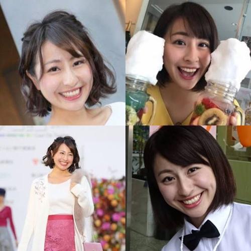 女子アナかわいいランキング2020・岡部里香