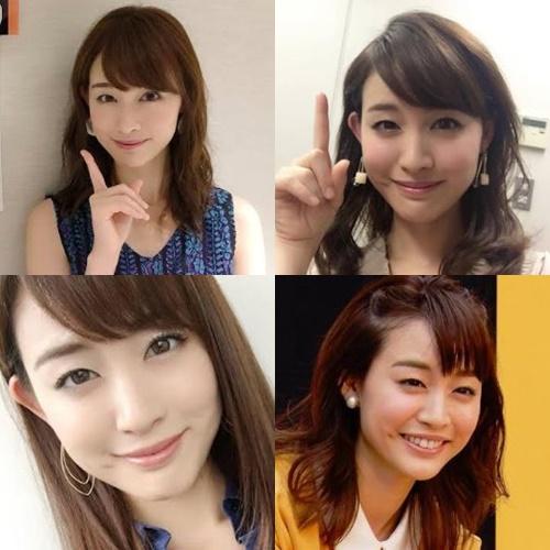 女子アナかわいいランキング2020・新井恵理那