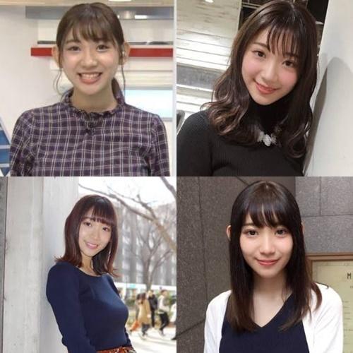 女子アナかわいいランキング2020・小林茉里奈