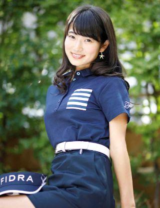安藤萌々・ゴルフ01