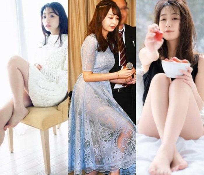 宇垣美里・美脚